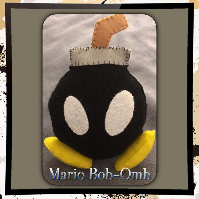 Mario Pals Bob-omb Felt Plush