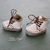 Middie and neo Blythe Takara cowhide leather shoes boots with metal eyelets -