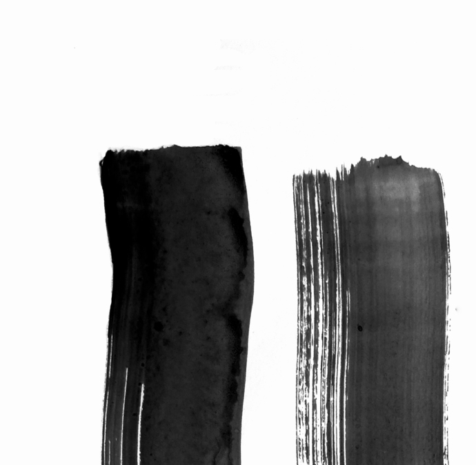 graphic design art,Black & White Abstract Set of 2 Prints, Digital Download,