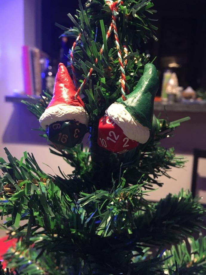 D20 Christmas Ornament