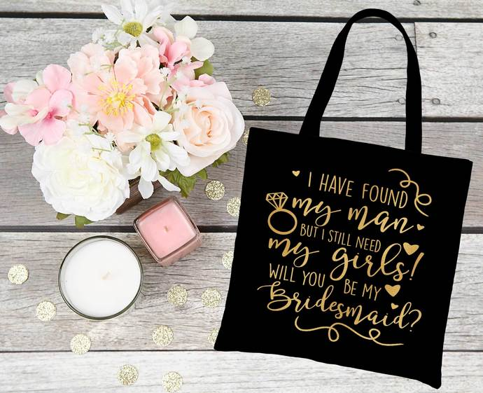 Will you be my bridesmaid gift bag, bridesmaid proposal
