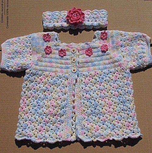 Gift  Baby Girl  Crochet Sweaters Set