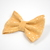 Large Cotton Bow Clip//Clip on Bow Tie - Golden Flurries