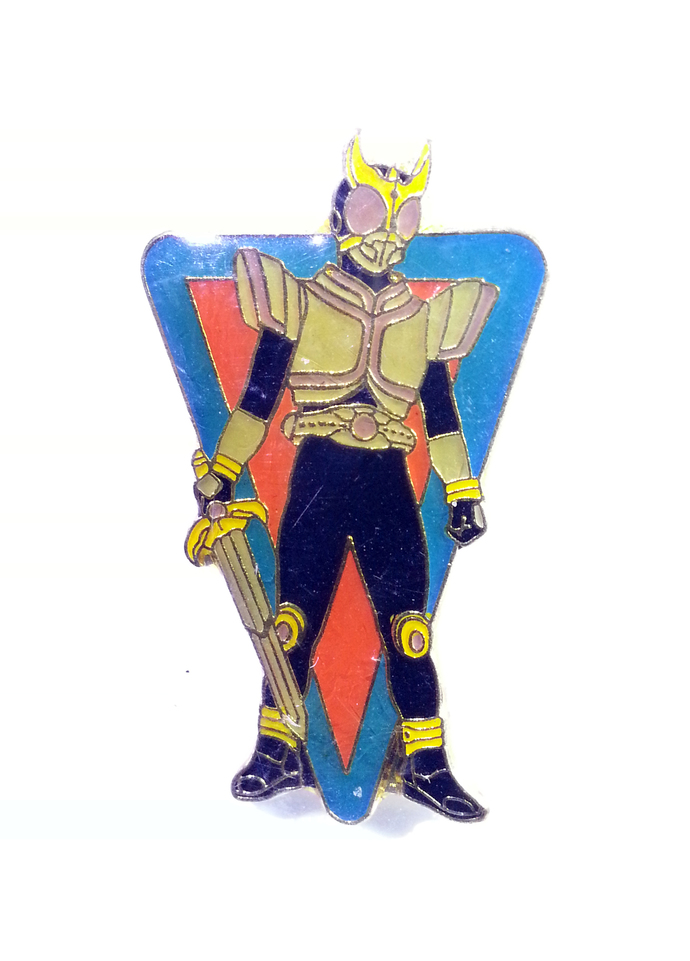 Masked Kamen Rider Kuuga Pin Badge (03) - TOEI Japanese Anime