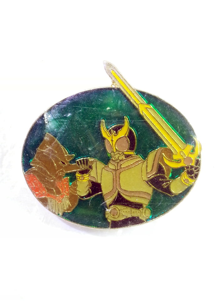 Masked Kamen Rider Kuuga Pin Badge (04) - TOEI Japanese Anime