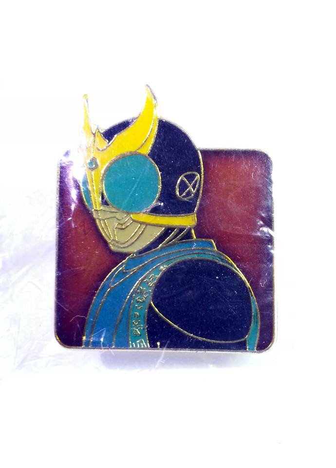 Masked Kamen Rider Kuuga Pin Badge (08) - TOEI Japanese Anime