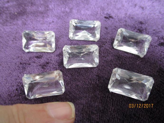 6 x 3/4 inch Acrylic Gems