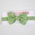 Little Guy Bow Tie - Dashing Green