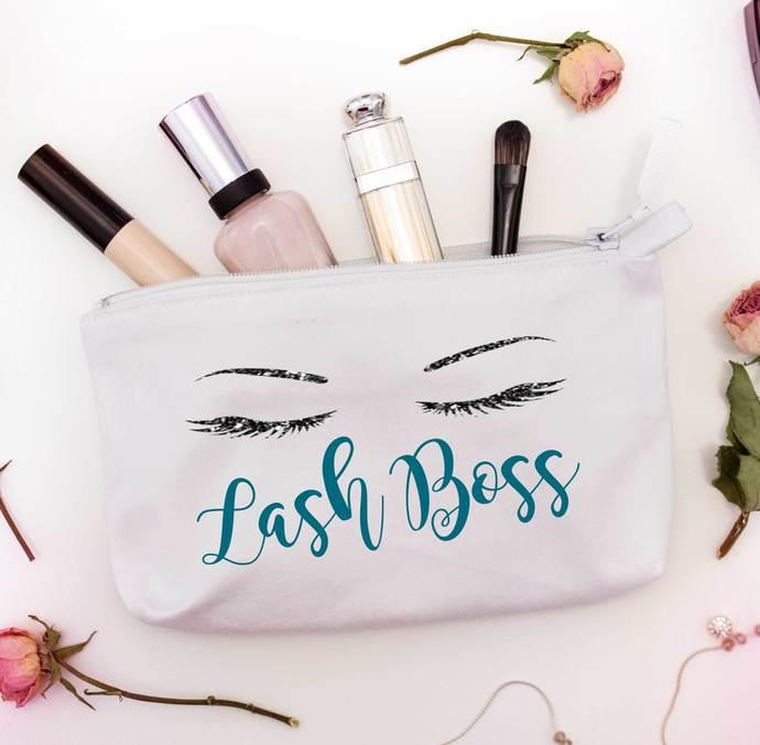 Lash Boss Custom Makeup Bag, Younique bag