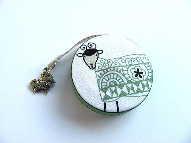 Tape Measure Graphic Sheep Retractable Measuring Tape