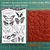 DARK Night, skeletons and bats, Bates Motel- rubber stamps set by Cherry Pie