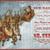Santa and Reindeer Digital Collage Greeting Card932