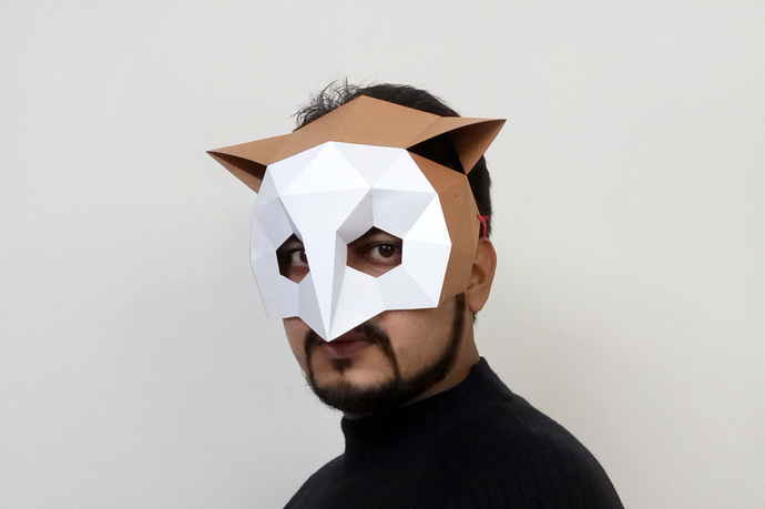 Printable 3d Animal Mask Templates Free