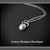 Sterling Silver Kettlebell Charm Necklace Hand Fabricated Crossfit Fitness Gym