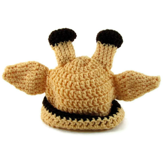 Baby Giraffe Hat  / Baby Giraffe Photo Prop  / Unisex Baby Hat / Newborn Giraffe
