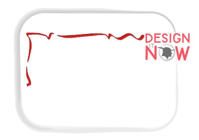 Invitation Frame Decor Machine Embroidery Design - One Size