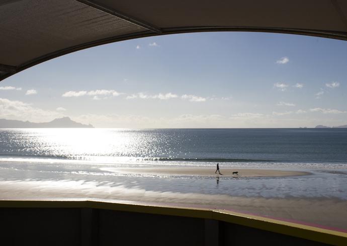Postcard - Two Friends, Waipu Cove, Northland, New Zealand