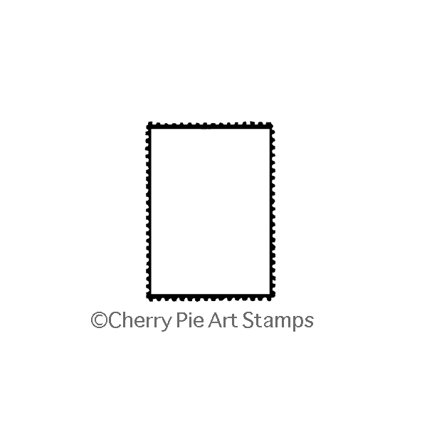 Blank POSTOID- CLiNG RuBBer STaMP by Cherry Pie E186