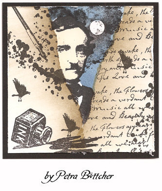 INK spray- CLiNG Rubber STAMP by Cherry Pie G255