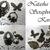 Victorian Bronze Nature Charm/Filigree Sets stl