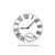 Clock face Large -  CLING RuBBer STAMP  by Cherry Pie Q462