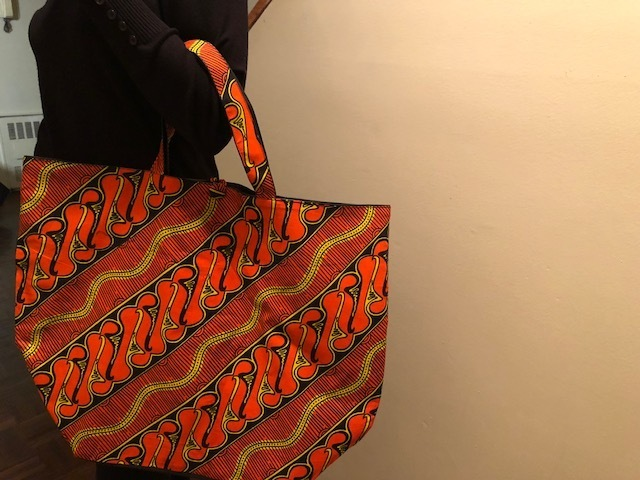 Sturdy African Tote Bag