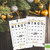 30 Happy New Year 2018 Bingo cards - Printable Game New year eve party - Instant