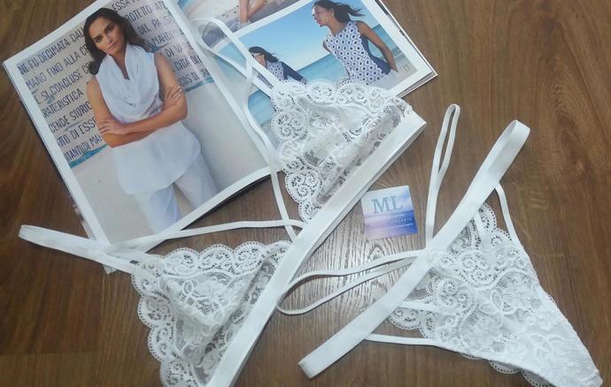 b487798f1 Bridal lingerie White bralette Sexy lingerie Wedding lingerie Lace panties  thong