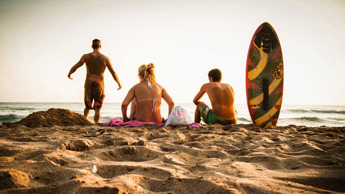 photography- beach title'summer'