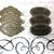 Handmade Metal Filigrees/Connectors/Plaques Set - Antique Bronze stl