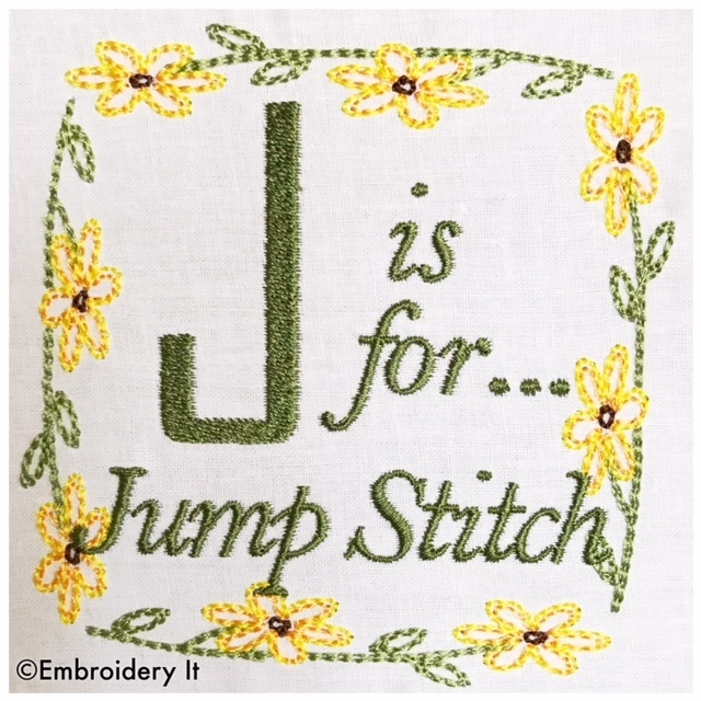 embroidery words alphabet letter j machine embroidery design in pes dst exp