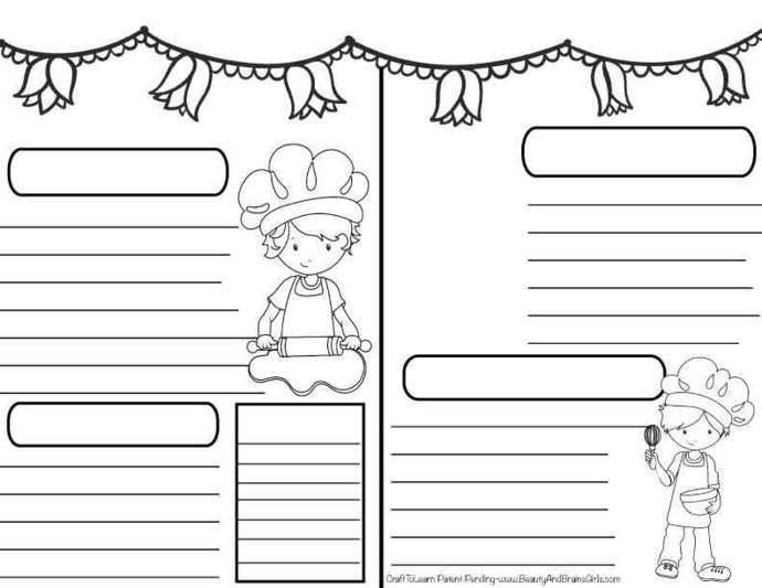 Tea Party Theme Journal  DIY Printable Instant Download Bullet Journal, Happy