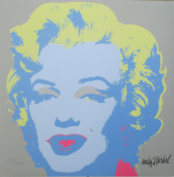 Andy Warhol Marilyn Monroe signed limited edition lithograph 1537/2400 II.26