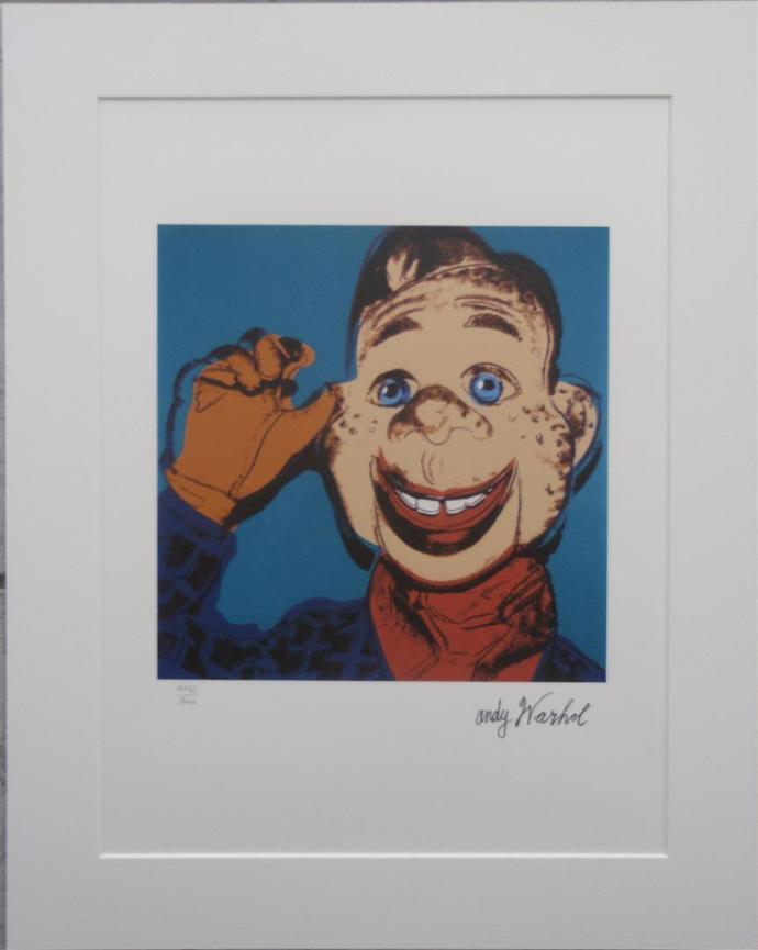 Andy Warhol SALE lithograph Howdy Doody numbered edition