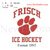 Custom embroidery desig, Frisch Ice Hockey logo,Custom embroidery pattern ,