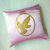 Custom Your Color. Gold Fairy Pink Decorative Pillow Cover Cushion Cover. Pink