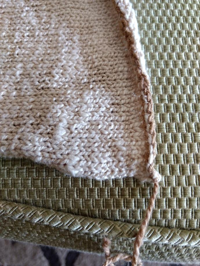Hand Spun Sea Island Natural Cotton  Blank