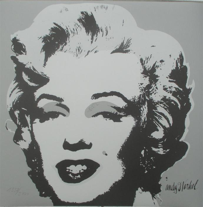 Andy WARHOL Marilyn Monroe signed authenticated lithograph 1938/2400 II.24