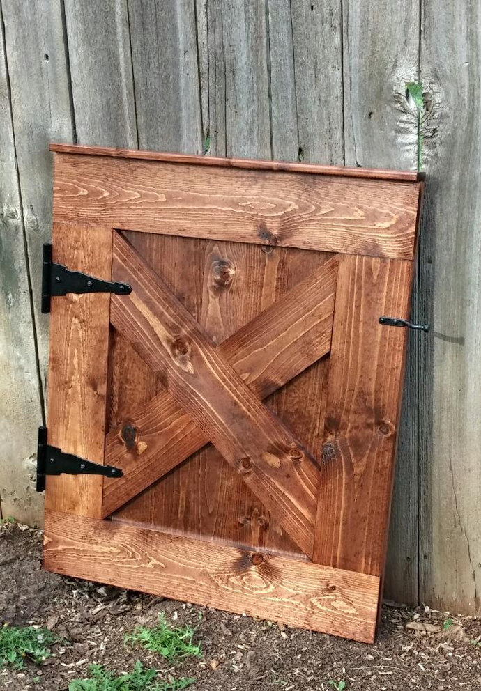 Baby Gate Pet Gate Custom Barn Door By Deer Lake Designs On Zibbet