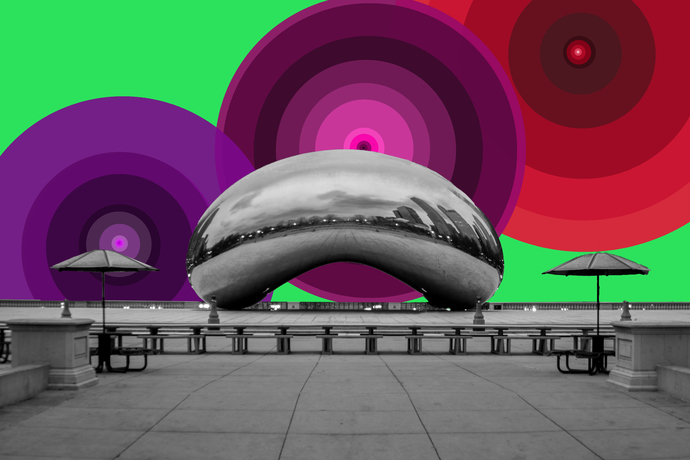 Illuminated Cloud Gate