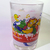 Coca Cola X McDonald's Mascot (Birdie) Christmas Heavy Base Drinking Water Glass