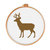 Stag Silhouette | Digital Download | Cute Cross Stitch Pattern | Animal Pattern