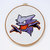 Haunter   Digital Download   Geek Cross Stitch Pattern   Pokemon Pattern