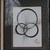 aesthetically pleasing ink drawing of circles in rescued frame