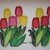 FSL 3D Bouquet of Tulips/Flowers/ Free Standing Lace Machine Embroidery design