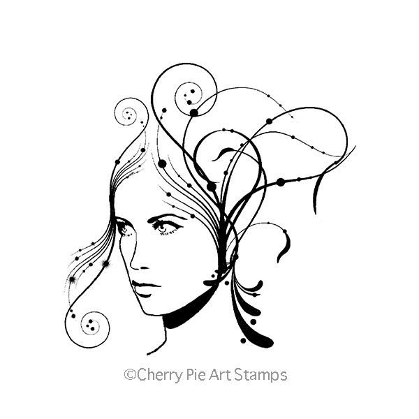 Ideas Muse - CLiNG RuBBer STAMP for acrylic block Q491