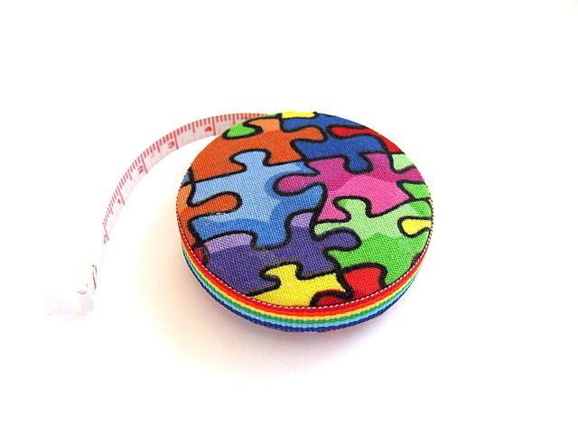 Tape Measure Autism Awareness Retractable Tape Measure