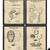 Vintage Patent Baseball Print Set