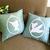 Color Choice. Peter Pan Cameo Decorative Grey Pillow Cover. Neverland Peterpan