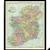 Vintage 1906 Map of Ireland